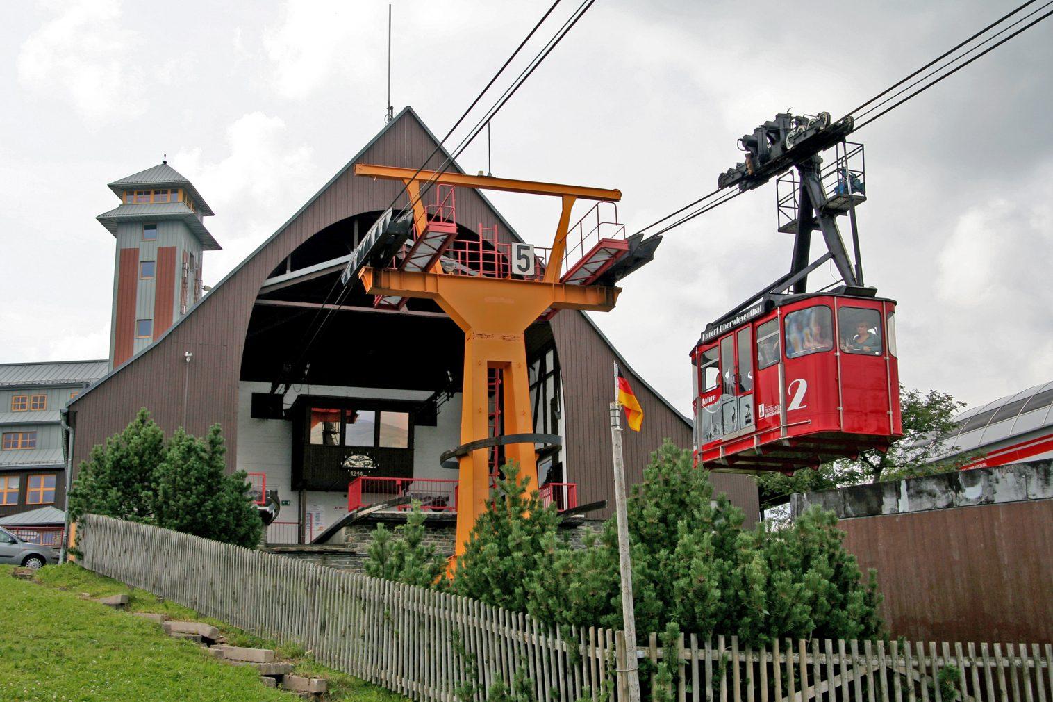 Besuchermagnet für Touristen im Erzgebirge